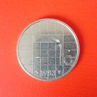 1 Gulden Münze Aus Den Niederlanden Von 1983 (sehr Schön) - 1980-…: Beatrix
