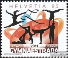 Switzerland 2188 (complete Issue) Unmounted Mint / Never Hinged 2011 World-gymnaestrada - Switzerland