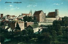 OLSZTYN   (Allenstein)  Schlosspartie 1916 - Pologne