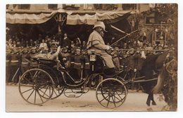 1920 YUGOSLAVIA, ZAGREB, KING ALEKSANDAR, ROYAL VISIT, ORIGINAL PHOTOGRAPH - Famous People