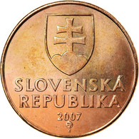 Monnaie, Slovaquie, 50 Halierov, 2007, TTB, Copper Plated Steel, KM:35 - Eslovaquia