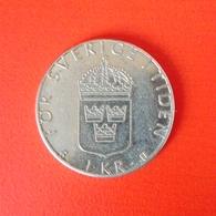 1 Krone Münze Aus Schweden Von 1978 (vorzüglich) - Schweden