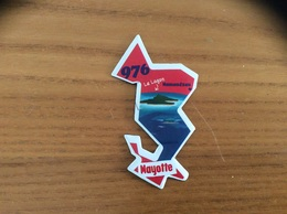 """Magnet Département Le Gaulois """"976 Mayotte"""" (Le Lagon) - Magnets"""