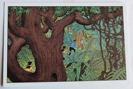Carte Postale Tintin Et Milou Le Trésor De Rackham Le Rouge Moulinsart Sundancer éditions Hazan - Stripverhalen