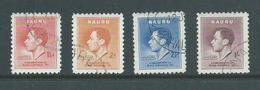 Nauru 1937 KGVI Coronation Set 4 FU - Nauru