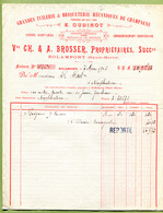 """ROLAMPONT  (1903) : """" TUILERIE & BRIQUETERIE  Vve CH. & A. BROSSER """" - France"""