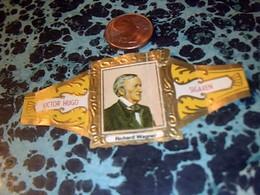 BAGUE DE CIGARE   Marque Victor Hugo Genre  De Bague Collection  Nr15 D__  Compositeur__-componistenserie- - Bauchbinden (Zigarrenringe)