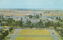 Hickam Air Force Base Hawaii, HQ For PACAF Base Command, Planes On Tarmac, Buildings, C1950s Vintage Postcard - Barracks