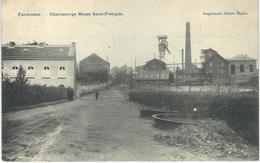 FARCIENNES : Charbonnage Masse Saint-François - Cachet De La Poste 1906 - Farciennes