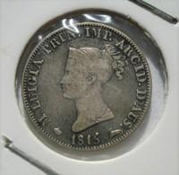 ITALIE PARMA 5 SOLDI 1815. M. LUIGIA, MARIE LOUISE. ARGENT. NAPOLEON. PARME. ITALY. - Regional Coins