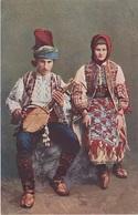 AK Pozdrav Bosnische Tracht Folklor Folklore Kostim Bosnien Herzegowina Bosna Bosnie Bosnia Hercegovina Herzegovine - Bosnien-Herzegowina