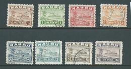 Nauru 1924 - 1947 Ships Part Short Set Of 8 To 6d FU - Nauru