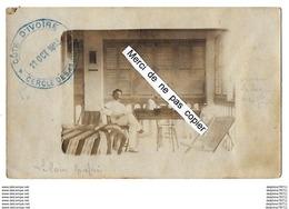 Côte D'Ivoire  Le Cercle Des Lagunes 1913   Carte-photo Recto-verso En L'état - Costa D'Avorio