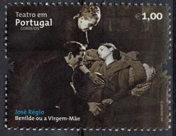 Portugal 2011 Used Théâtre Pièce Benilde Ou A Virgem Mãe De José Régio SU - 1910-... République