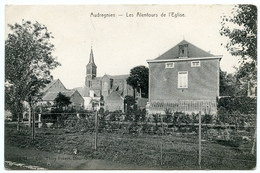BELGIQUE : AUDREGNIES - LES ALENTOURS DE L'EGLISE - Quiévrain