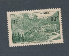 FRANCE - N°YT 358 NEUF** SANS CHARNIERE - COTE YT : 4€30 - 1937 - Neufs