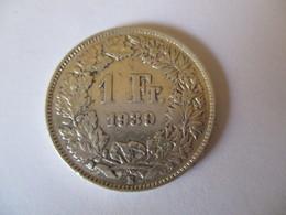Suisse: 1 Franc 1939 (silver) - Suisse