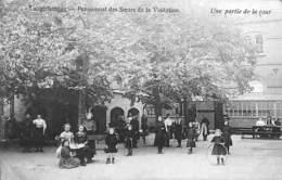 Langerbrugge - Pensionnat Des Soeurs De La Visition - Une Partie De La Cour (top Animation, Photo H Haes, 1920) - Evergem
