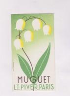 CARTE PARFUMEE,   MUGUET  (l.t Pivert) - Cartes Parfumées