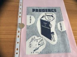 "Buvard ""SEMAINE DE PRUDENCE - EDF - GDF"" - Electricity & Gas"