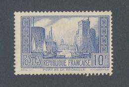 FRANCE - N°YT 261b) NEUF** SANS CHARNIERE AVEC GOMME NON ORIGINALE (GNO) - COTE YT : 125€ - 1929/31 - Ungebraucht