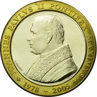 Vatican, Jeton, Religion, Jean-Paul II, Arts & Culture, 2005, SUP, Bi-Metallic - Jetons & Médailles