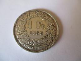 Suisse: 1 Franc 1953 - Suisse