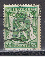 (BE 431) BELGIQUE // YVERT 283 //  PERFIN / PERFORE R H  // 1929-32 - Perfins