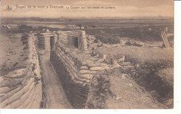 Dixmude (1914-1918) - Boyau De La Mort, Le Cavalier Avec Ses Postes De Guetteurs - Diksmuide