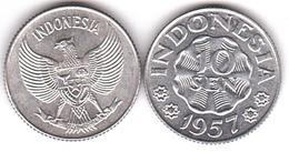 Indonesia - 10 Sen 1957 UNC Lemberg-Zp - Indonesia