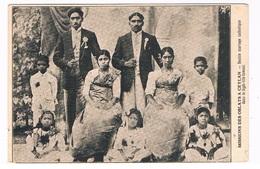 ASIA-1490   CEYLON : Missions Des Oblats :Double Mariage Catholique Dans Le High-life Tamoul - Sri Lanka (Ceylon)