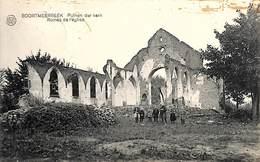 Boortmeerbeek - Pulnen Der Kerk - Ruines De L'Eglise (animée, Edit. A Waeyenborghe-Van Der Borght 192x) - Boortmeerbeek