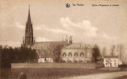 La Hulpe - Eglise D'Argenteuil Et Couvent (Edit. Vve G. Batardy 1911) - La Hulpe