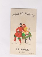 CARTE PARFUMEE PARFUM CUIR DE RUSSIE, L.T PIVER - Cartes Parfumées