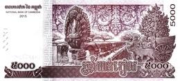 CAMBODIA P. 68 5000 R 2015 UNC - Cambodia