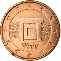 Malte, Euro Cent, 2008, TTB, Copper Plated Steel, KM:125 - Malta