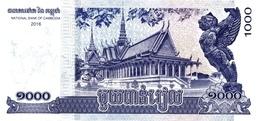 CAMBODIA P. 67 1000 R 2016 UNC (2 Billets) - Cambodja