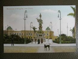 Antique Tarjeta Postal - Peru Perou - Monumento à Bolognesi - Lima - Polack-Schneider N°125 - Pérou