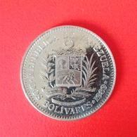 2 Bolivar Münze Aus Venezuela Von 1989 (sehr Schön) - Venezuela