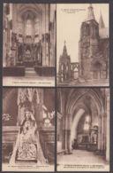 90833/LT37/ EGLISES, France, Basilique Notre-Dame D'Avioth, Lot De 12 Cartes - Chiese E Cattedrali