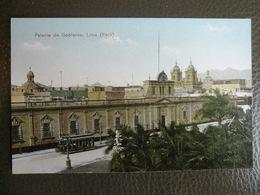 Antique Tarjeta Postal - Peru Perou - Palacio De Gobierno - Lima - Polack-Schneider N°107 - Pérou