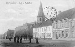 Swevezeele - Kerk En Marktplaats (animate, 1919) - Wingene