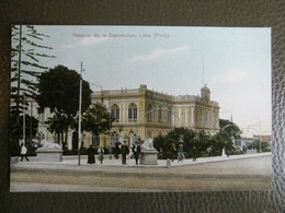 Antique Tarjeta Postal - Peru Perou - Palacio De La Exposicion - Lima - Polack-Schneider N°123 - Peru