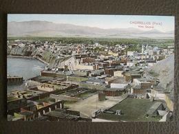 Antique Tarjeta Postal - Peru Perou - Chorrillos - Vista General - Polack-Schneider Lima - Peru