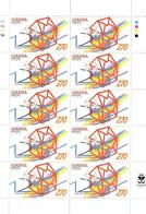 Armenia.1999 UPU-125 (Envelopes). Sheet Of 10 Stamps. Michel # 368 KB - Armenia