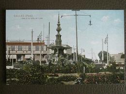 Antique Tarjeta Postal - Peru Perou - Callao - Vista à La Calle De Lima - Polack-Schneider Lima N°45 - Peru
