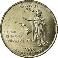 Monnaie, États-Unis, Quarter, 2008, U.S. Mint, Denver, TB+, Copper-Nickel Clad - Émissions Fédérales