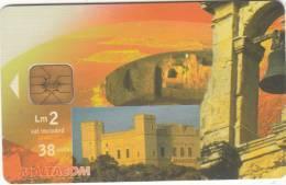 MALTA - Verdala Palace, Chip IN2, Tirage 60000, 02/03, Used - Malte
