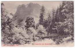 Lütschine, Brücke, Wetterhorn - VS Valais
