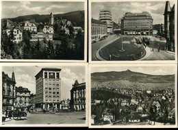 Sudeten Reichenberg Liberec 4 Kleinen Foto 6x9cm Kurviertel Konrad Henlein Platz Strassenbahn - Places